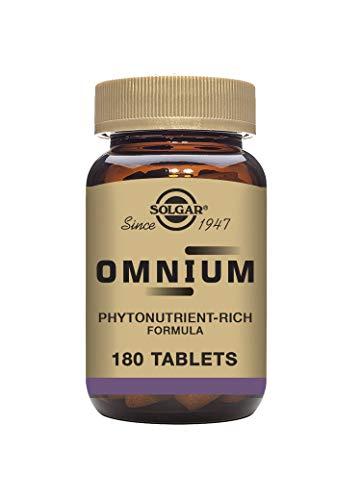 Solgar Omnium Vitaminas - 180 Tabletas(El empaque puede variar)