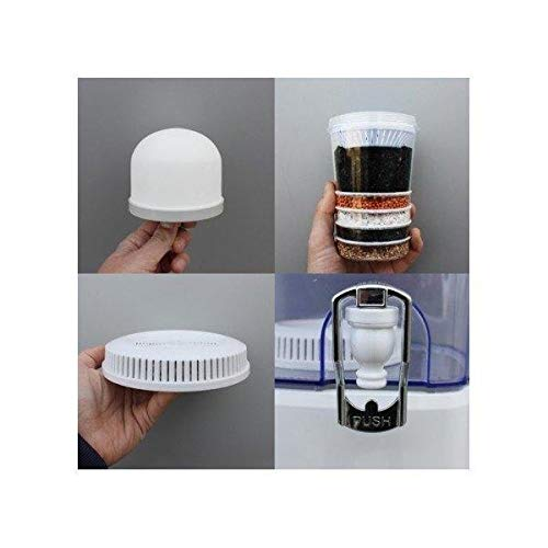 ECODE Recambio para Aqua Filter Tower -Pack de 3 filtros