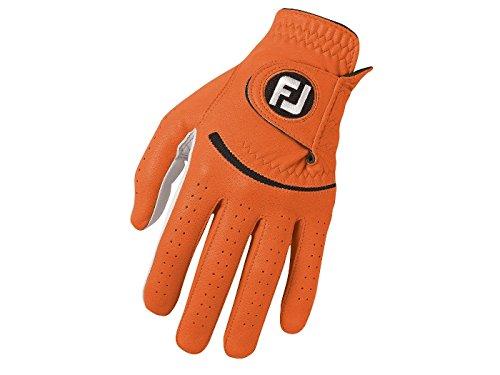 FootJoy SPECTRUM Herren Golfhandschuh LH - für Rechtshänder - Orange (XL)