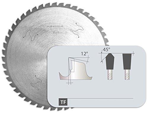 Bayerwald - HM cirkelzaagblad - Ø 355 mm x 2 mm x 25,4 mm | trapeziumvlaktand (72 tanden) | Dry Cutter professioneel staal