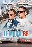 LE Mans 66 – Film Poster Plakat Drucken Bild - 43.2 x
