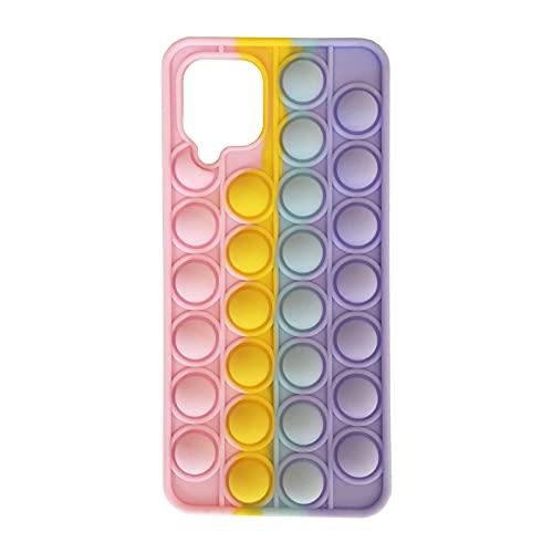Samsung A12 Case for Girls, Simple Dimple Fidget Toys Push Pop Bubble Wrap Galaxy A12 Phone Case Phone Case(samsung-A12)
