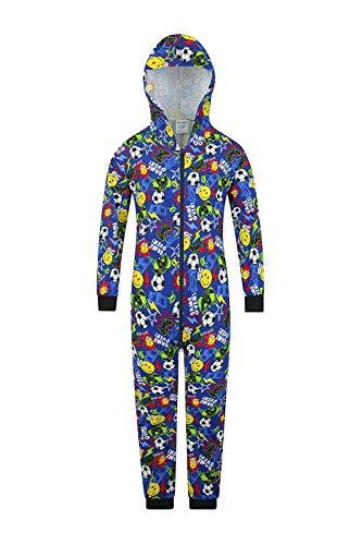 """The Pyjama Factory Schlafanzug für Jungen, """"Gamer Controller""""-Design Gr. 11-12 Jahre, blau"""