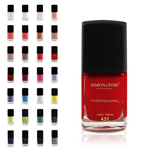 NAGELLACK SET - 28 Farben KIT - Kollektion mit aktuellen Trendfarben - JETZT NEUE VERPACKUNG - Schnell trocknend - Perfekt für Heimmaniküre und Pediküre - PROFESSIONELLES FINISH / 12 ml.