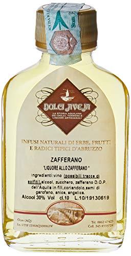 Liquore allo Zafferano DOP dell'Aquila 'Il Profumo delle Eccellenze della Terra d'Abruzzo' - 100 ml - Dolci Aveja