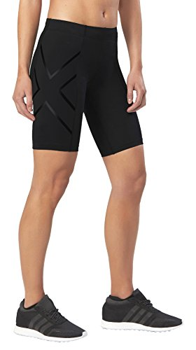2XU Damen Core Compression Shorts (Black/Nero, Small)