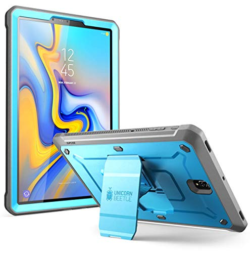 SUPCASE [Unicorn Beetle PRO Series] Case for Galaxy Tab S4 with Built-in Screen Protector Full-Body Kickstand Rugged Protective Case for Samsung Galaxy Tab S4 10.5 inch 2018 (SM-T830/T835/T837) (Blue)