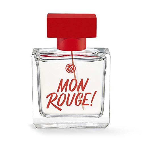 Yves Rocher MON ROUGE! Eau de Parfum Mon Rouge, sinnlich-holziger Duft mit Patchouli, 1 x Zerstäuber 50 ml