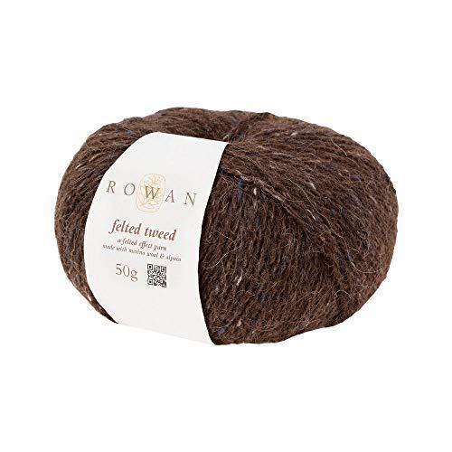 Rowan Z036000-00153 Handstrickgarn, 50% Wolle, Viskose, 25% Alpaka, Phantom, onesize