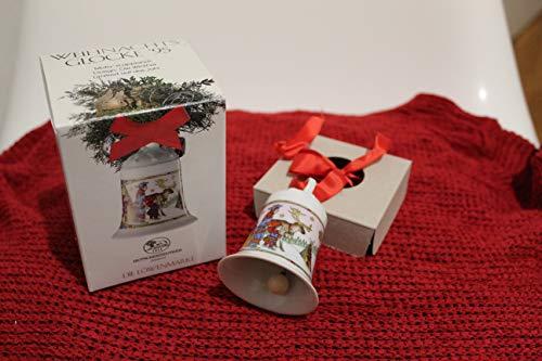 Hutschenreuther Porzellan Weihnachtsglocke 1995 in der Originalverpackung NEU 1.Wahl
