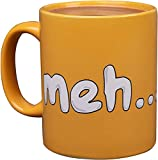 Gudetama The Lazy Egg Meh Coffee Mug - Ceramic - Sanrio - 11 oz