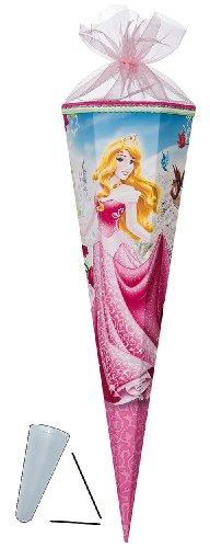 alles-meine.de GmbH stabile Spitze - aus Kunststoff - für Schultüte - Disney Prinzessin Aurora 70 / 85 cm - mit / ohne Kunststoff Spitze - Zuckertüte ALLE Größen - Nestler - Prin..