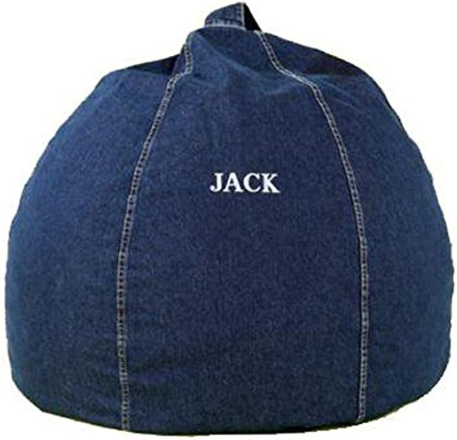 Mybeanbag Chair Kids Round, Denim, Indigo