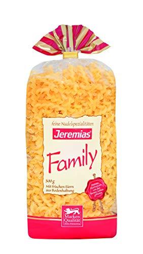 Jeremias Band gedreht, Family Frischei-Nudeln, 4er Pack (4 x 500 g Beutel)