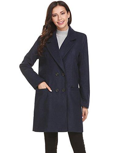 Unibelle Płaszcz damski, kurtka wiosenna, pikowana kurtka, trencz, kurtka przejściowa, płaszcz pikowany, parka wierzchnia z dwurzędowym