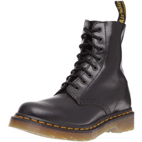 Dr. Martens Dr. Martens PASCAL Buttero BLACK, Damen Combat Boots, Schwarz (Black), 42 EU (8 Damen UK)