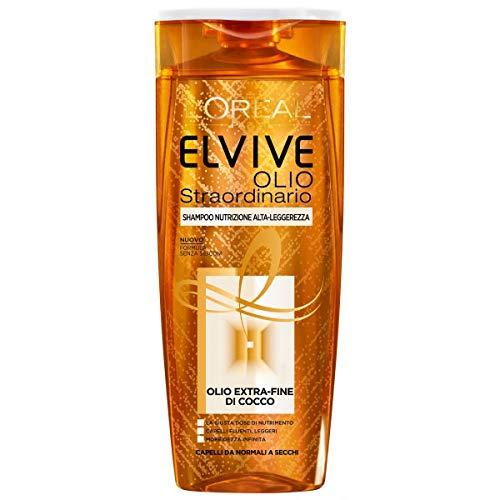 L Oreal Elvive Olio Straordinario Shampoo Nutrizione Alta Leggerezza 400 ml