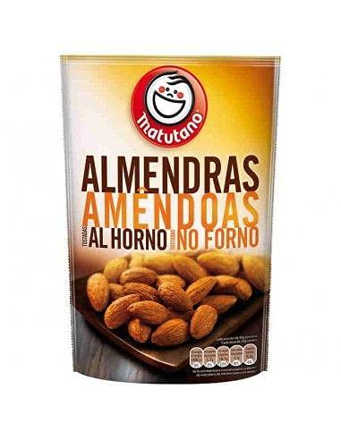 Matutano - Almendras matutano tostadas al horno bolsa 83 g