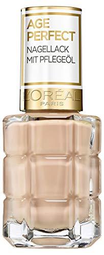 L'Oréal Paris Age Perfect Nagellack mit Pflegeöl 116 Café de Nuit Nude/Rosé 14 ml