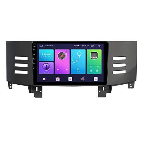 Sat Nav Android 10.0 Estéreo para automóvil, compatible con radio TOYOTA REIZ 2005-2010 Navegación GPS Unidad principal de 9 pulgadas Reproductor multimedia MP5 Receptor de video Rastreador con 4G WI