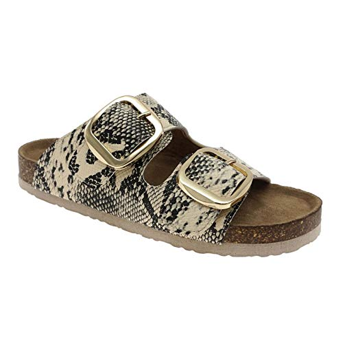 OUTWOODS BORK-66 Womens Sandals (10, Beige Combo)