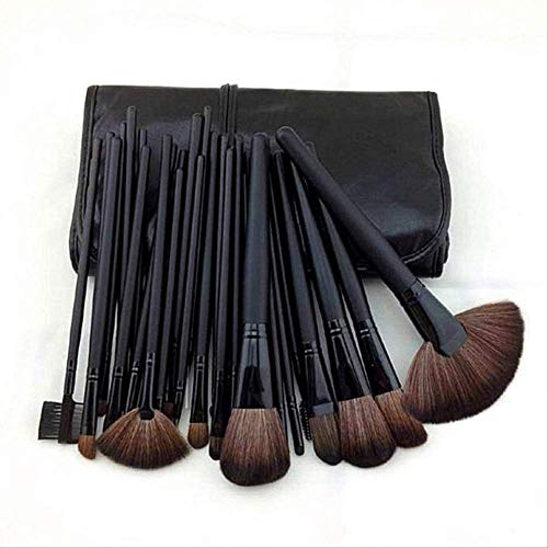 24-Piece Gift Bag Makeup Brushes Brushes Professional Cosmetics Eyebrow Brushes Powder Shades Pinceaux Makeup Tools Sombre