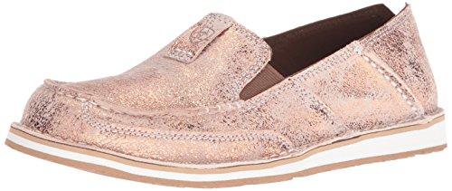 ARIAT Women's Cruiser Casual Shoe, Golden Pink, 6.5 B - Medium