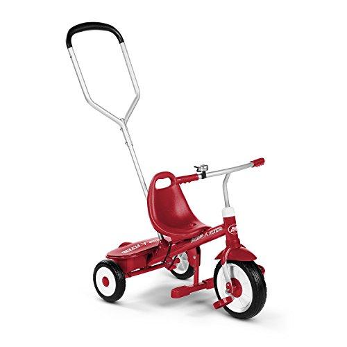 Radio Flyer- Juegos de Viaje Y de Bolsillo Bicicletas, Color Rojo (97164)
