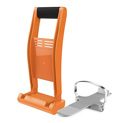 Plywood Carrier & Drywall Foot Lifter, Enpoint Drywall Carrying Tool and Alloy Foot Panel Lifter, Panel Carrier and Sheetrock Lever Lift for Handling Installing Drywall Door Glass