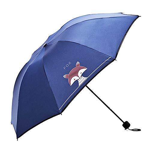 Sun Umbrella Umbrella Portable Folding Manual Girl Travel