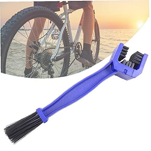 Herramienta de mantenimiento de la cadena de la bicicleta de montaña Cepillo de limpieza para bicicleta de mantenimiento o limpieza con herramienta de ciclo de la cadena Limpiador de escobillas