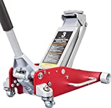 BIG RED AT830011LR Torin Hydraulic Low Profile Aluminum and Steel Racing Floor Jack