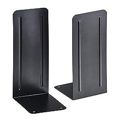 "commercial Acrimet Jumbo Premium 9 ""(Heavy Duty) Metal Book Coaster (Black) (1 pair) bookends heavy duty"