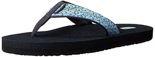 Teva Women's Mush II Flip Flop,Companera Blue,8 M US