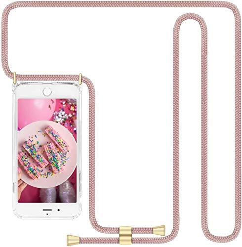 """Imikoko Handykette Hülle für iPhone 11 Necklace Hülle mit Kordel zum Umhängen Silikon Handy Schutzhülle mit Band - Schnur mit Case zum umhängen (6.1"""")"""