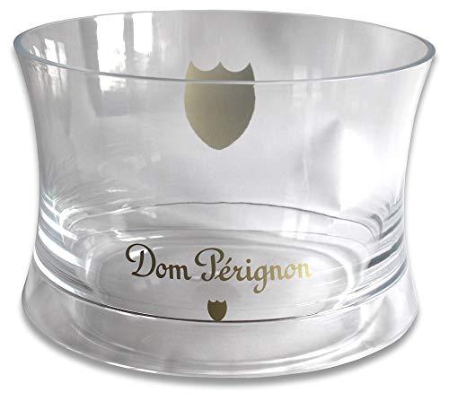 Dom Pérignon XXL Flaschenkühler (rund) Champagner Kübel Day Party Klar Transparent Eiswürfel Behälter Triple Magnum Design Ice Bowl