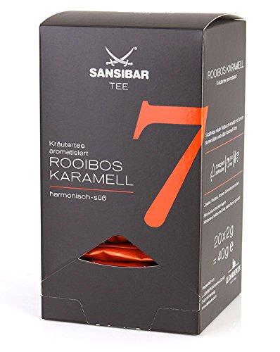 Sansibar Tee Nr. 7 Rooibos Karamell Kräutertee, aromatisiert