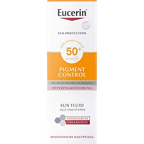 Eucerin Pigment Control LSF 50+ Sun Fluid, 50 ml Lösung
