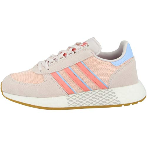 Adidas Schuhe Marathon Tech W Orchid Tint-Tactile Rose-Glow Blue (EE4944) 38 Rosa