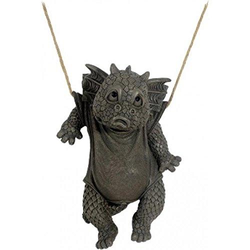 Figure de jardin dragon à accrochent décoration