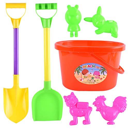 ayaso Juguetes de exterior para niños y niñas, juguetes de playa, juego de arena, caja de arena, juguetes de verano