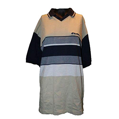 Lotto Shirt Montecarlo S MC, Herren, Gr. XXL (US), mandel/marineblau/weiß