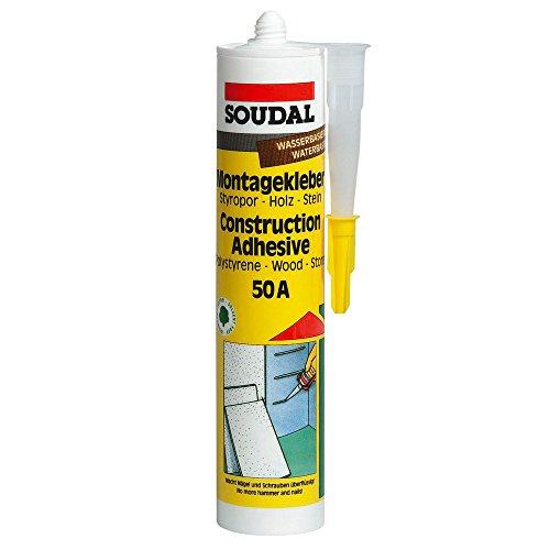 Universalkleber MONTAGEKLEBER 50A Weiss 310ml Spar- Set (15)