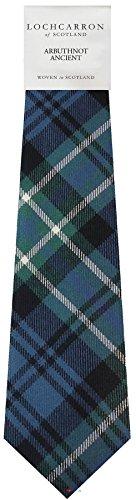I Luv Ltd Gents Neck Tie Arbuthnot Ancient Ancient Tartan Lightweight Scottish Clan Tie