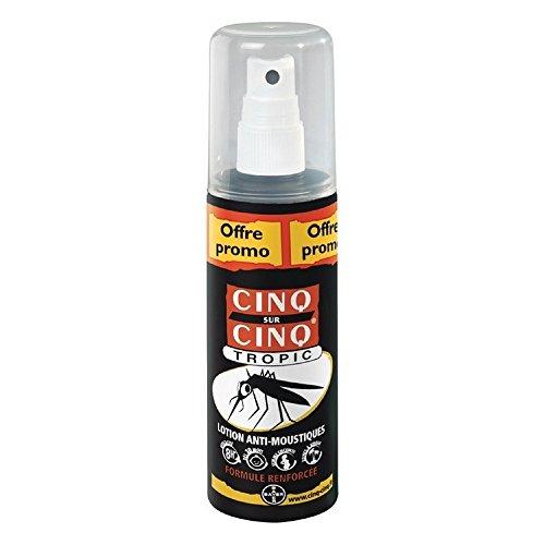 Cinq sur Cinq Tropic Lotion Anti-moustiques 100 ml