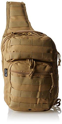 Mil-Tec Single Shoulder Strap 10L Coyote Tactical Assault Backpack - 14059105