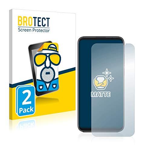 BROTECT 2X Entspiegelungs-Schutzfolie kompatibel mit Meizu 16 Bildschirmschutz-Folie Matt, Anti-Reflex, Anti-Fingerprint
