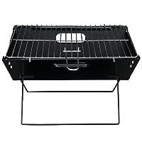 [pro.tec] Barbacoa Portátil Plegable con Parrilla BBQ - 45 x 30 x 30 cm Grill...