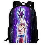 Hongfeimaoyi Dragon_Ball_Z - Mochila escolar con estampado en 3D, para el colegio, mochila de viaje, para jóvenes y adultos
