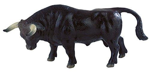 Bullyland 62567-Figura de Juego, Toro Manolo, Aprox. 16 cm de Altura, Figura Pintada a Mano, sin PVC, para Que los niños jueguen de Forma imaginativa, Color Colorido (62567)